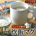 7分で炊きあがる 電子レンジ用 炊飯器 1合炊き そのまま食...