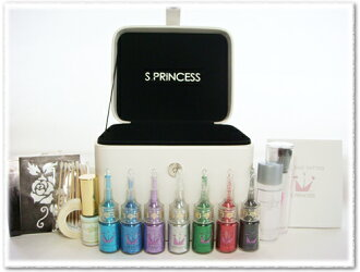 Diamond Glitter Tattoo mini set [blue-color set] [glitter tattoo set]