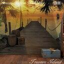壁紙 ドイツ製Treasure Island 「宝島」 輸入壁紙 デザイン おしゃれ 輸入 海外 外国 紙 壁紙 クロス のり付き DIY リフォーム だまし絵 風景