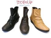 【INCHOLJE-インコルジェ-】本革☆くしゅくしゅスマートショートブーツ☆日本製【3204】※在庫切れの場合はお問い合わせ下さい。