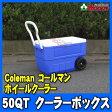 コールマン/Coleman 50QT クーラーボックス ホイールクーラー【コールマン/coleman/クーラーボックス/50QT/ホイール/タイヤ】