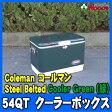 コールマン/Coleman 緑 グリーン 54QT クーラーボックス スチールベルトクーラー【コールマン/coleman/クーラーボックス/54qt/steel belted coolers】