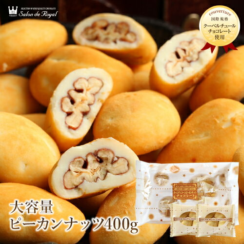 大容量キャンディピーカンナッツチョコレート(400g)WEB限定商品ナッツチョコレートランキング1位