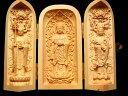 仏像◆観音開き◆5A極上手彫り◆1体3,980円◆木彫り 立像(りゅうぞう)仏様像 置物◆高さ約100-105mm◆風水やインテリアに