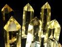 超透明 5A【シトリン チビ六角柱】重さ 22-25g 六角柱 ポイント【黄水晶】【ブラジル産】