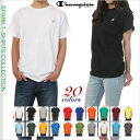 チャンピオン Tシャツ 半袖 メンズ レディース CHAMPION Tシャツ 大きいサイズ ロゴ 無地 USAモデル ストリート 白 黒