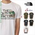 ノースフェイス Tシャツ メンズ レディース THE NORTH FACE 半袖 Tシャツ 迷彩 ロゴ アウトドア ファッション ブランド 白 黒 オリーブ グレー