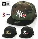 ニューエラ キャップ キッズ 帽子 NEW ERA CAP スナップバックキャップ NY ニューヨーク ヤンキース ベースボールキャップ アメカジ スポーツ B系 ストリート系 ヒップホップ ダンス 衣装 USA ブランド ファッション 黒 迷彩 ブラック カモ
