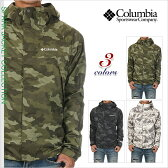 コロンビア ジャケット メンズ COLUMBIA WABASH マウンテンパーカー マウンテンジャケット ナイロンジャケット オムニテック 大きいサイズ 山登り アウトドア ファッション 迷彩