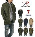 ロスコ M-65 ジャケット メンズ ROTHCO ミリタリージャケット 大きいサイズ M65 フィールドジャケット キルティングライナー付 アウター サバゲー アメカジ USA ブランド ファッション 迷彩 オリーブ 黒 カーキ