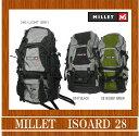 【送料無料】MILLET/ミレー Isoard28/MIS0125【アウトドア】【リュックサック】【バックパック】【28リットル】