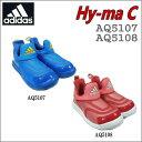 adidas/アディダス Hy-ma C(ハイマC)/AQ5107、AQ5108【キッズ】【スリッポン】【18cm】【19cm】【20cm】【21cm】