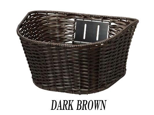 ルイガノ カジュアルバスケット【DARK BROWN】LOUIS GARNEAU 自転車 カゴ バスケット ルイガノオプションパーツ【パーツ総額10800円(税込)以上 送料無料】
