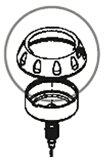 自転車 フロアポンプ SERFAS サーファス FP-200 ゲージカバー 補修パーツ【パーツ総額10,800円以上送料無料】【02P09Jul16】