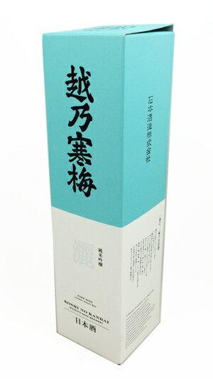 ◆化粧箱◆越乃寒梅 灑(専用)1.8L
