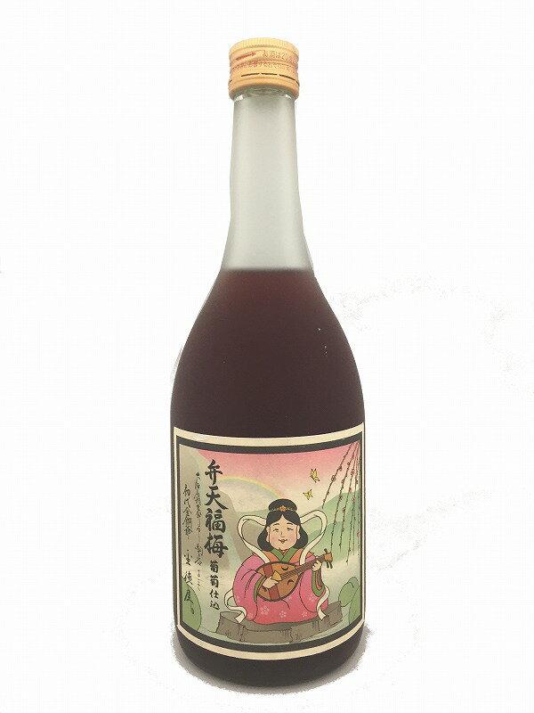 弁天福梅720ml梅酒ブランデーベースアルコール度数12%四合瓶山の寿父の日