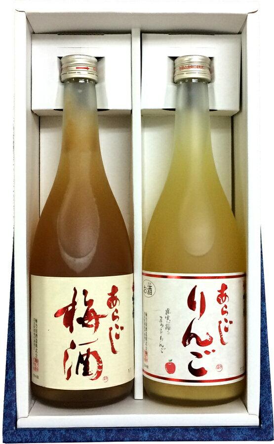 2本セット!梅乃宿720ml(あらごし梅酒&あら...の商品画像