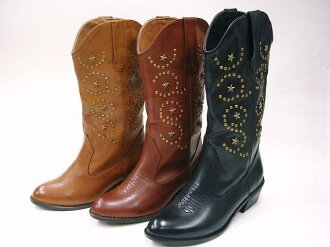 42770 Venti Anni Venti preparation of phthalocyanine ☆ vintage finish, half-Western boots with Filipa