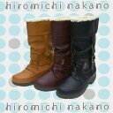 The winter half boot [10% OFF!] with the Hiromichi Nakano HN WPL052 double waterproofing, boa [rainsnow-boots]