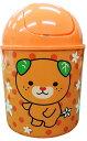 NEW 愛媛県イメージアップキャラクター「みきゃん」ふた付きゴミ箱 1個 (約)直径140mmx高さ200mm DM便非対応商品