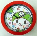 ショッピング掛け時計 深谷市イメージキャラクターふっかちゃん 掛け時計 (レッド)