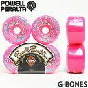 パウエル ペラルタ ジーボーンズ 【Powell Peralta G-BONES】 スケートボード ウィール オールドスクール 復刻 カラー:Pink サイズ:...