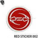 バートン レッド サークル ステッカー ミディアム 【BURTON RED CIRCLES STICKER MEDIUM】 シール スノーボード スノボ カラー:FOSSIL サイズ:M (7.6cm)