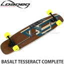 ローデッド バサルト テッセラクト コンプリート 【LOADED BASALT TESSERACT COMPLETE】 スケートボード スケボー ロングボード 完成品 SKATEBOARD カラー:COLOR:DARK BLUE TRUCK:Paris V2 180mm Black/Black WHEEL:Stimulus 70mm/86a サイズ:9.5