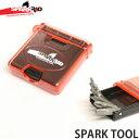 スパーク アールアンドディー スパーク ツール 【SPARK R&D SPARK TOOL】 スノーボード 工具 携帯用 小型 ドライバー レンチ SNOWBO...