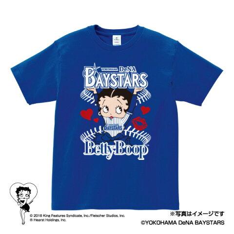 横浜DeNAベイスターズ公認グッズBETTY BOOP™×ベイスターズ Tシャツ baystars/ベティー ブープ™/かわいい