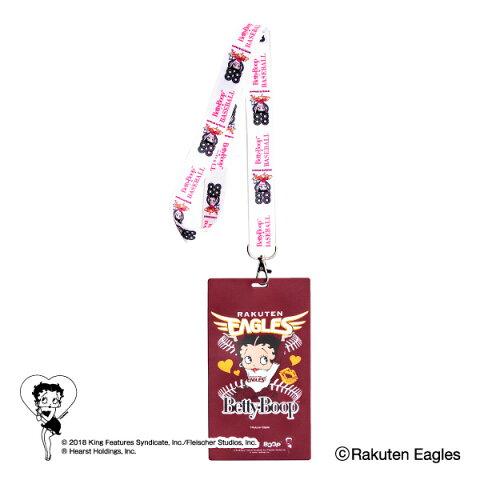 東北楽天ゴールデンイーグルス公認グッズBETTY BOOP™×イーグルス チケットホルダー eagles/ベティー ブープ™/かわいい