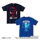 中日ドラゴンズ公認グッズJURASSIC WORLD×ドラゴンズ Tシャツ(大人用) dragons/ジュラシック ワールド/恐竜/おすすめ
