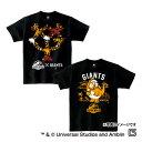 読売ジャイアンツ公認グッズJURASSIC WORLD×ジャイアンツ Tシャツ(子供用) giants/ジュラシック ワールド/恐竜/おすすめ