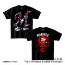 千葉ロッテマリーンズ公認グッズJURASSIC WORLD×マリーンズ Tシャツ(子供用) marines/ジュラシック・ワールド/恐竜/おすすめ