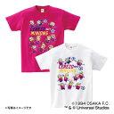 セレッソ大阪公認グッズミニオン×セレッソ大阪 Tシャツ(大人用) cerezo/minions/かわいい