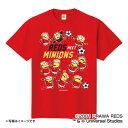 浦和レッドダイヤモンズ公認グッズミニオン×浦和レッドダイヤモンズ Tシャツ(大人用) reds/minions/かわいい