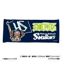 東京ヤクルトスワローズ公認グッズワンピース×スワローズ フェイスタオル swallows/one piece/おすすめ
