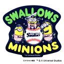 東京ヤクルトスワローズ公認グッズミニオン×スワローズ ステッカー 2018 swallows/MINIONS/かわいい