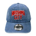 HIROSHIMA CITY デニムキャップ 広島/HIROSHIMA/ロゴ/キャップ/おしゃれ