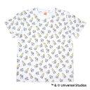広島東洋カープ公認グッズミニオン×カープ 総柄Tシャツ(大人用)/広島東洋/カープ/carp/MINIONS/かわいい