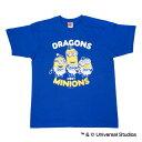 中日ドラゴンズ公認グッズミニオン×ドラゴンズ Tシャツ(大人用)/中日/ドラゴンズ/DRAGONS/MINIONS/かわいい