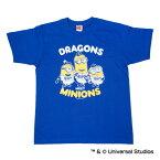 中日ドラゴンズ公認グッズミニオン×ドラゴンズ Tシャツ(大人用)/中日/ドラゴンズ/DRAGONS/MINIONS/かわいい※8/28(月)より順次発送※