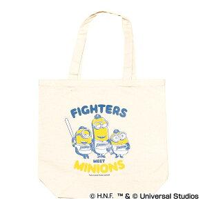北海道日本ハムファイターズ公認グッズミニオン×ファイターズ キャンバストートバッグ fighters/MINIONS/かわいい