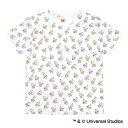 東京ヤクルトスワローズ公認グッズミニオン×スワローズ 総柄Tシャツ(大人用)/東京ヤクルト/スワローズ/swallows/minions/かわいい