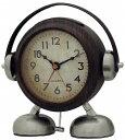 [CREPHA] クレファー (目覚まし時計) ビッグサウンド フットベル目覚まし時計アミーゴ (ウッド)
