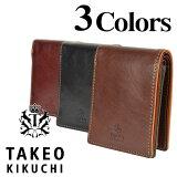 TAKEO KIKUCHI タケオキクチ エリア メンズ 二つ折り財布 TK266616【】