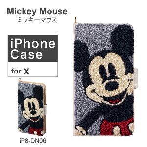 ミッキーマウス Mickey Mouse iPhoneX ケース サガラ