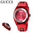 グッチ 腕時計 SYNC YA137303 レディース GUCCI ステンレススチール/ポリアミド合成樹脂 サファイアガラス ラバー[bef]