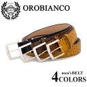 オロビアンコ スポーツ ベルト メンズ OROBIANCO SPORT OBS-712016 本革 レザー 【PO10】【bef】