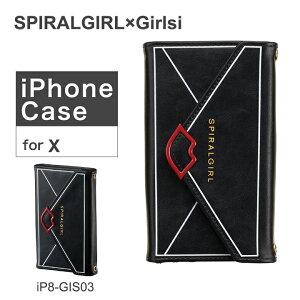スパイラルガール iPhoneX ケース レディース アイフ